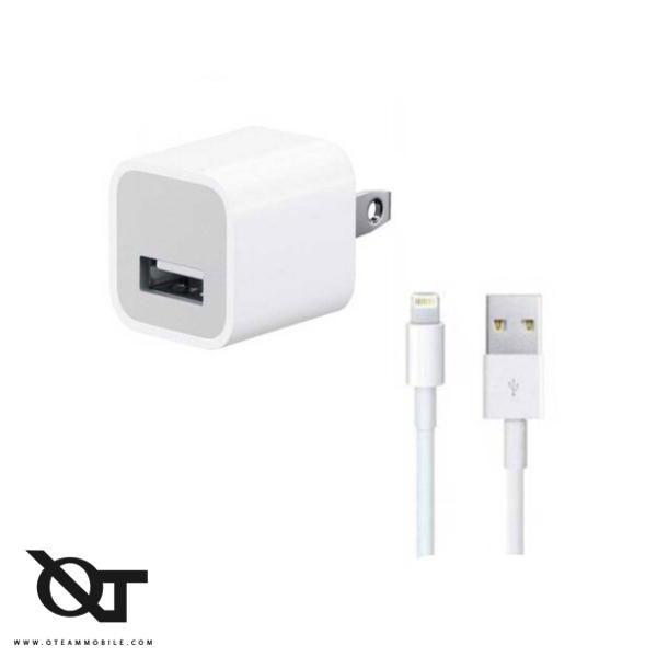 شارژر و آداپتور گوشی موبایل آیفون iPhone 5