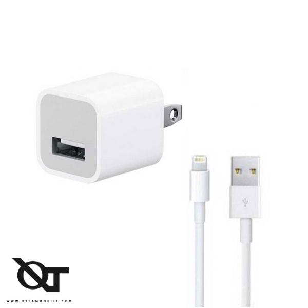 شارژر و آداپتور گوشی موبایل آیفون iPhone SE